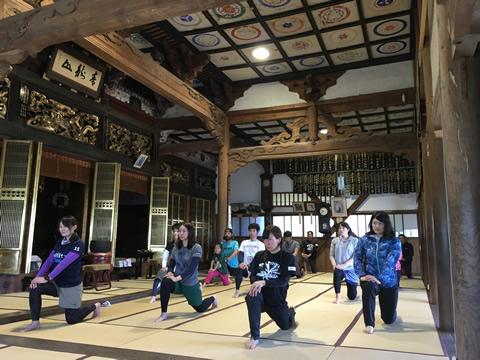 護摩・座禅・ヨガ・ピラティス・ノルディックの写真2