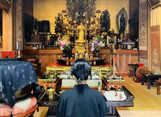 風情あるお寺の写真